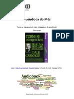 Dale Carnegie -  Torne-se Inesquecível - Seja uma Pessoa de Excelência.pdf