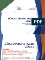 Diapositivas Módulo de Género