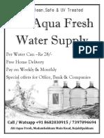 Abi Water Supply