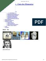Tabela Periódica - Bário - Ba