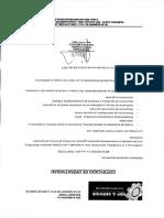 Certificado de Operatividad de Trompo
