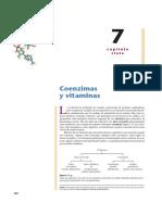 Ch7-Coenzimas y Vitaminas