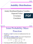 5 Joint Probability Distribution