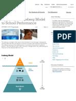 Applying the Iceberg Model to School Performance