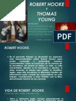 Robert Hooke y Thomas Young