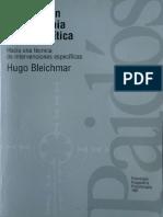 Avances en psicoterapia psicoanalítica [Hugo Bleichmar].pdf