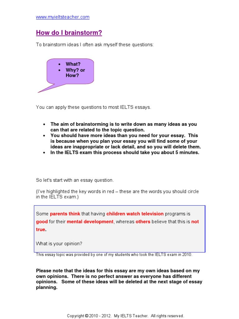Essay planning conclusion