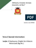 T.2.1 Deplasarea