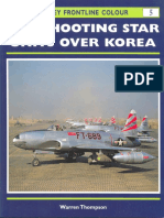 Osprey - Frontline Colour 005 - F-80 Shooting Star Units Over Korea