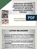 kebijakan antenatal terpadu_DIT IBU.ppt