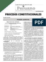Ley N° 27321 de los inscritos en el Registro Nacional de Trabajadores Cesados Irregularmente se computa desde la fecha de publicación del último listado efectuado