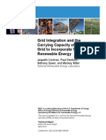 NREL 62607 Grid Integration and the Carrying Capacity of US Grid Renewable Integration