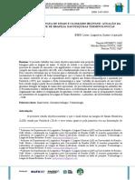 Sinal Termo, Lingua de Sinais e Glossario Bilingue Atuacao Da Universidade de Brasilia Nas Pesquisas Terminologicas