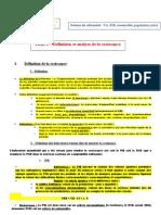 fiche 1 et 2 du Chapitre introductif les sources et limites  de la croissance économique 2010 2011