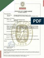 Certificación WQ CE
