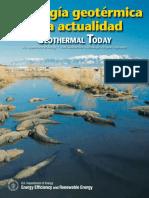 La energía geotérmica en la Actualidad