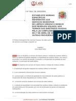Lei Ordinaria 7815 2009 Sao Jose Dos Campos SP Consolidada [30!05!2012]