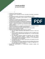 Itens a Atender de Acordo Com NR12 - Calvi PVC 40.2000