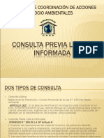 Consulta Previa Libre e Informada