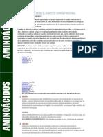 Clasificacion Biologica de los Aminoacidos