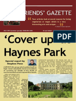 Friends' Gazette July Special Ed