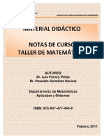 06Notas Del Curso Taller de Matemticas