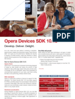 Opera Devices SDK 10 PS