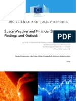 Space Weather and Financial System