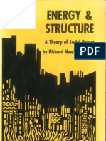 ENERGY and STRUCTURE - A Theory of Social Power by Richard Newbold Adams