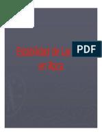 Estabilidad de Laderas en Roca.