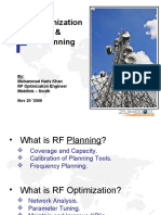 Presentation RF Optimization and Planning(1)