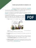 12 Diapositivas Bastan Para Presentar Tu Empresa a Un Inversor