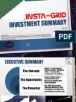 Insta Grid Invest Summary 15Aug17