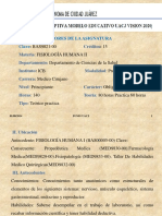 Carta Descriptiva Fisiología 2