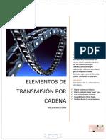Elementos de Transmición Por Cadenas