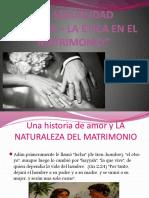 Etica Matrimonios