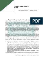 Tsebelis, George y Alemán, Eduardo - Poderes de Agenda Condicionales en América Latina
