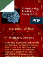 Understanding Psychiatric Emergencies