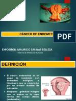 Cáncer de Endometrio Mauri Hmc