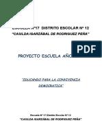 Proyecto Escuela 2017