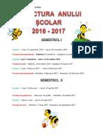 0 0 Structura Anului Scolar 20142015