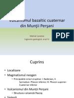 Vulcanismul Bazaltic Cuaternar Din Munții Perșani 2-Molnar Levente