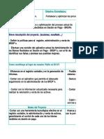 Proyecto 9.3 Mejoramiento Aplicativo y Optimizacion Del Proceso de Administracion de Bienes Recibidos en Dacion en Pago - BRDPs