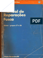 Manual de Reparaçoes Do Fusca ( Motor)