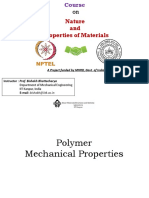 Lec19_Polymer Mechanical Properties