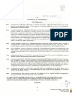 Acuerdo Ministerial 0052-2017