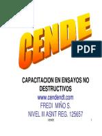 Curso de Certificacion Vt Nivel I-II