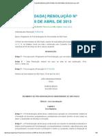 Regimento USP 2013