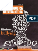 El fenómeno del bullying