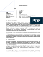 INFORME PSICOLÓGICO 03